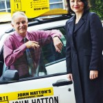 John Hatton with Kellie Tranter